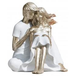 dekojohnson Dekoobjekt Sommerpaar sitzend 14x15x15 cm