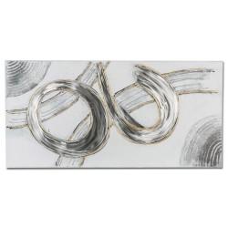 formano Wandbild Holz & Aluminium Design 100X50 CM
