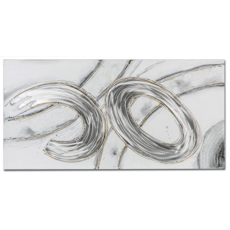 formano Wanddeko Wandbild Holz Aluminium 100x50 cm