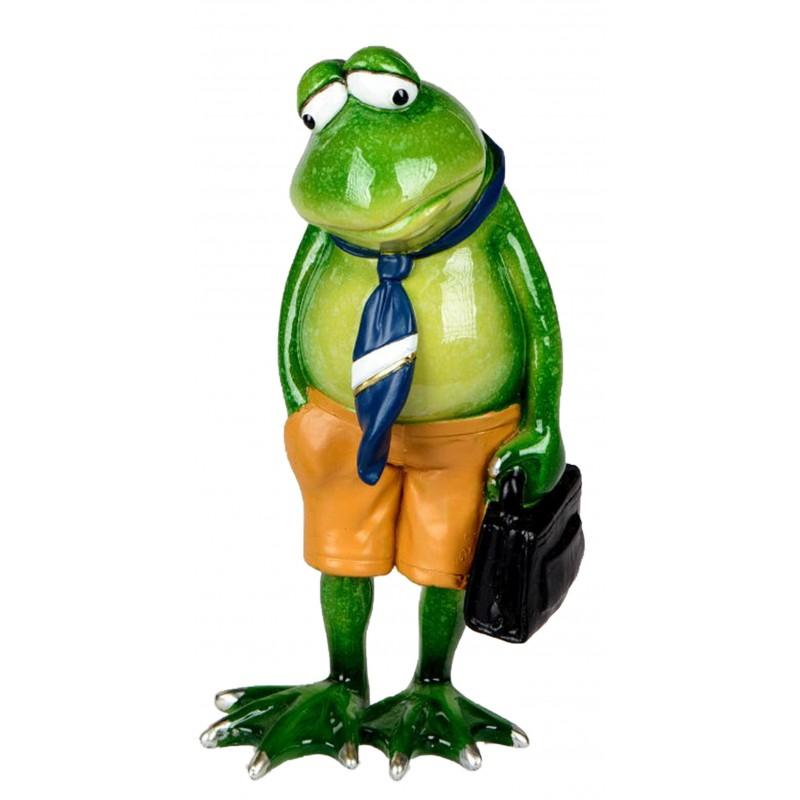 Dekojohnson Deko Frosch Krawatte Aktentasche