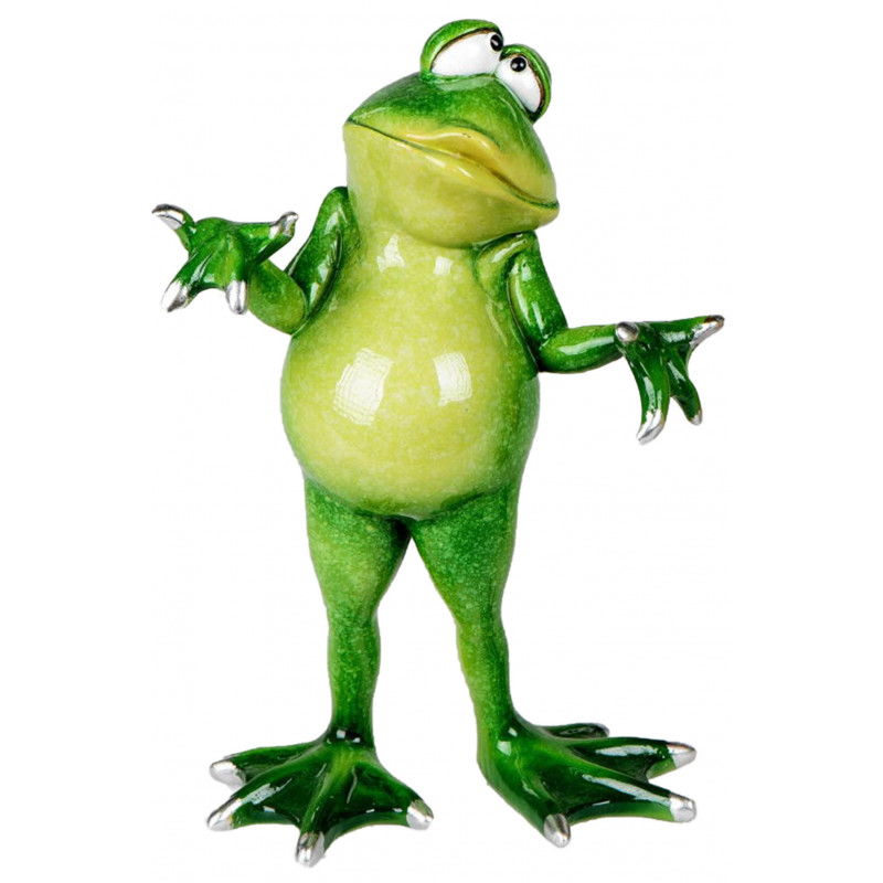 Dekojohnson lustiger Deko Frosch
