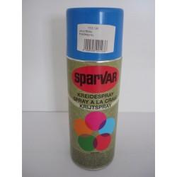 Kreidespray Sparvar 400 ml Leuchtblau