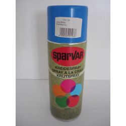 Kreidespray Sparvar 400 ml Leuchtblau