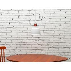 Garageeight Pendelleuchte Etel Aluminium Weiß Matt