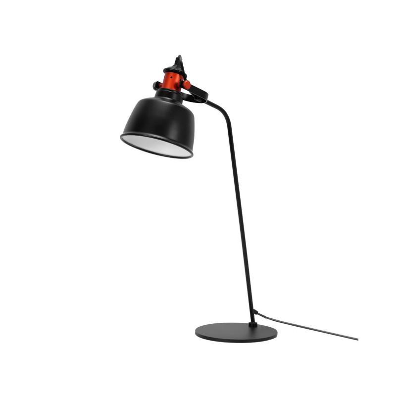 Garageeight Tischlampe Etel Schwarz