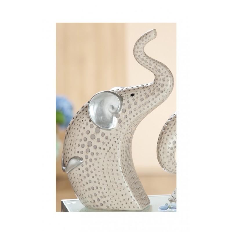 GILDE exklusive Dekofigur Elefant Punto 7x19x27 cm