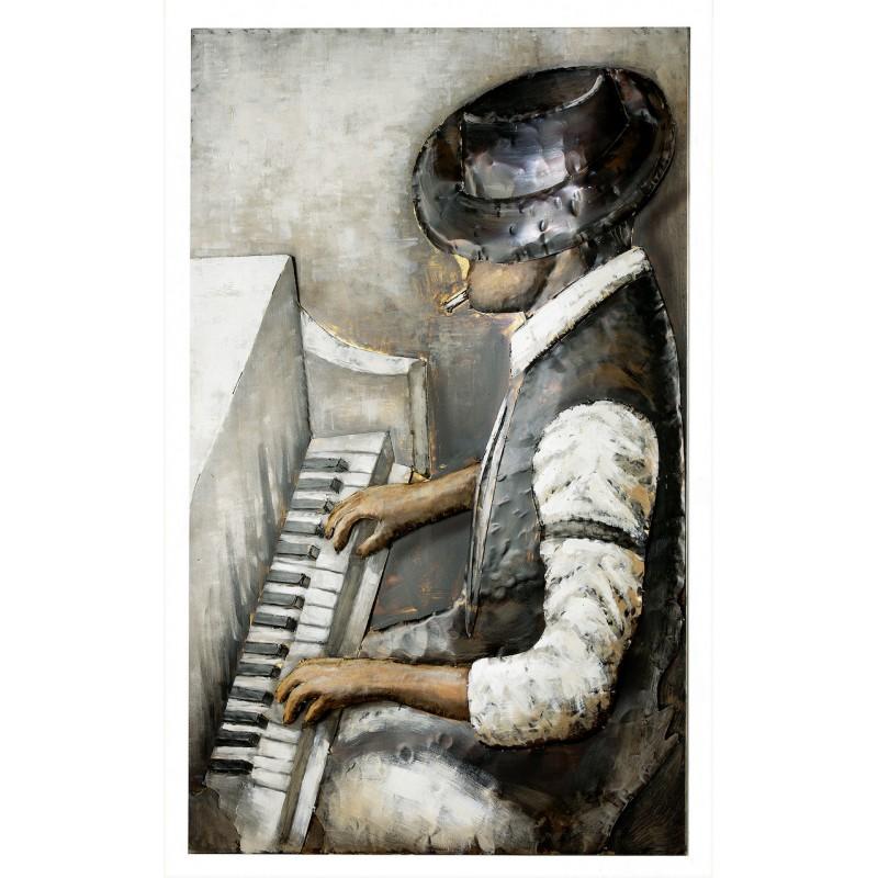 GILDE Metall Bild Rhythm And Blues 3D 80x120x7 cm