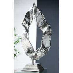 Gilde Alu Skulptur Flamme 56 cm