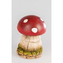 formano Deko Pilz Fliegenpilz aus Keramik Landhaus 16 cm