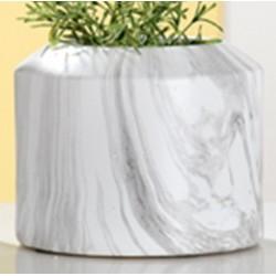 GILDE Moderne Vase Marble aus Keramik