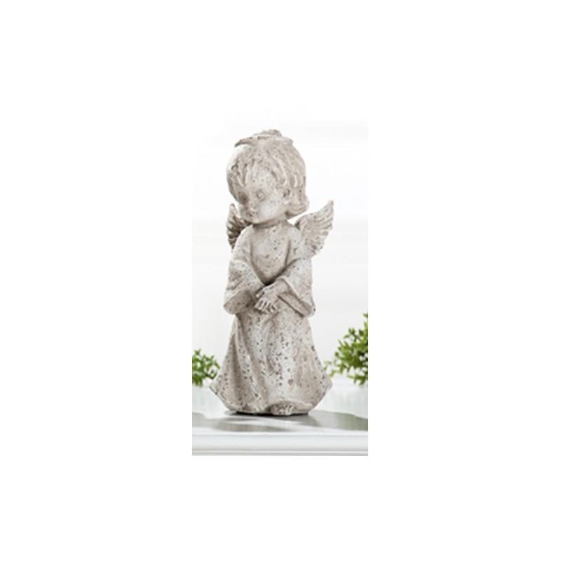 GILDE antiker Dekoengel im Steinlook 25 cm