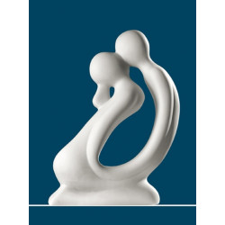 Gilde Skulptur Paar DER KUSS