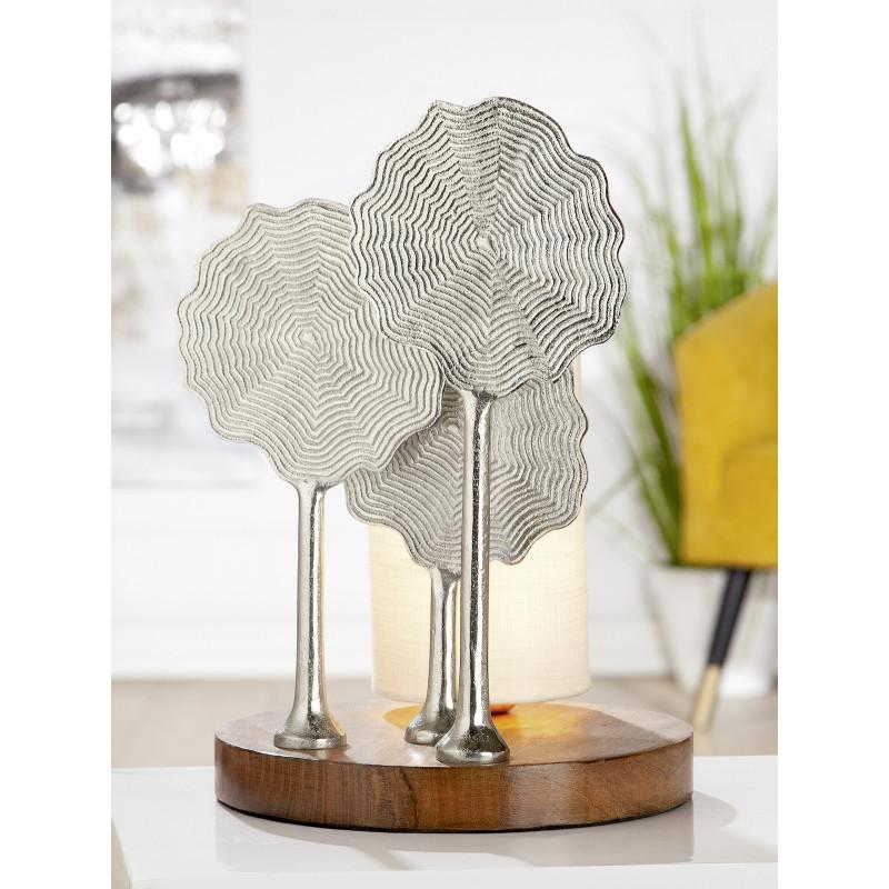 GILDE Aluminium Lampe Flower