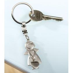 Gilde Schlüsselanhänger Schutzengel 11cm