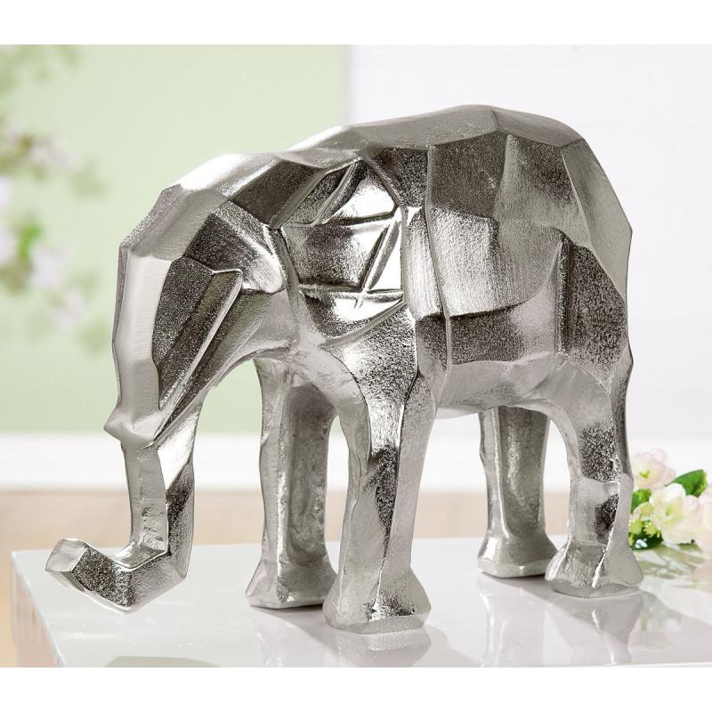 Gilde Skulptur Elefant Angular