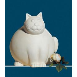 Gilde Skulptur Sitzende Katze Molli