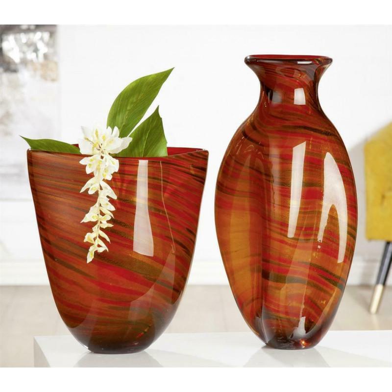 Gilde GlasArt Design Vase Sienna