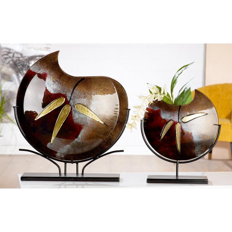 Gilde Glasart Vase Canneto 47cm