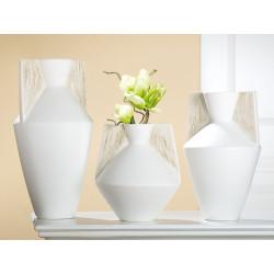 Gilde Amphorenvase Riscado Keramik creme