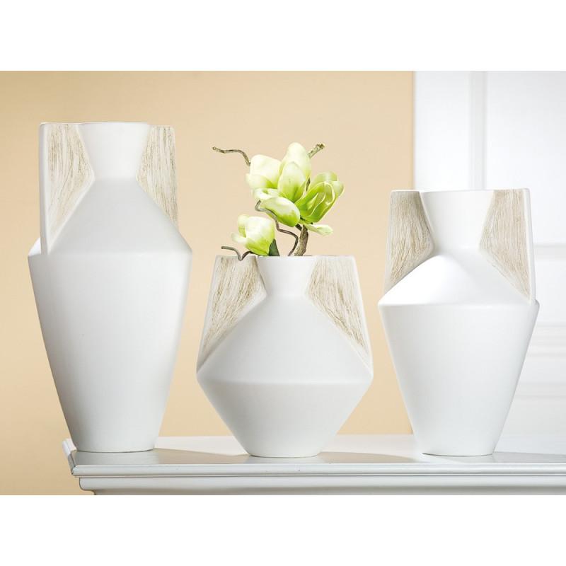 Gilde Amphorenvase Riscado Keramik