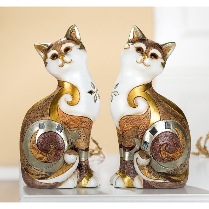 Gilde sitzende Katze byzantinisch