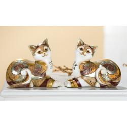 Gilde liegende Katze byzantinisch