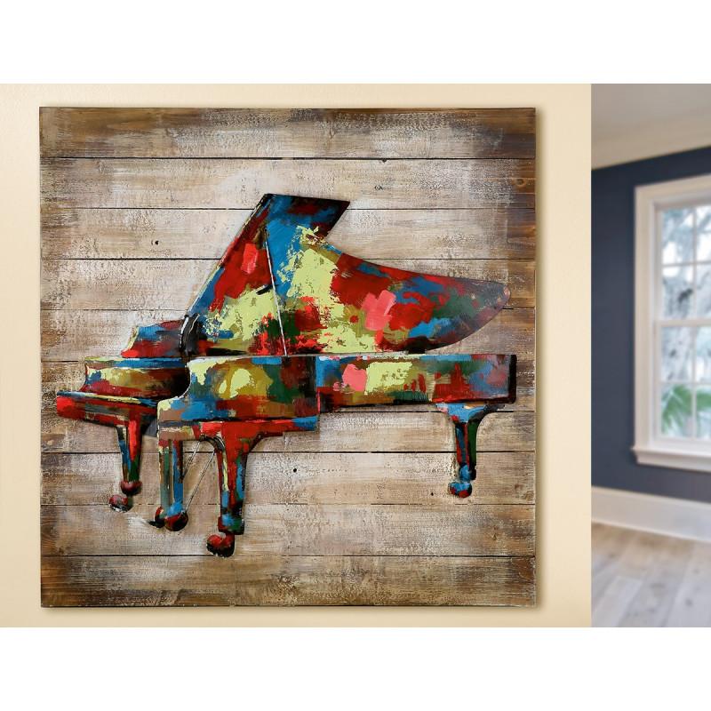GILDE Gemälde In Concert auf Holz