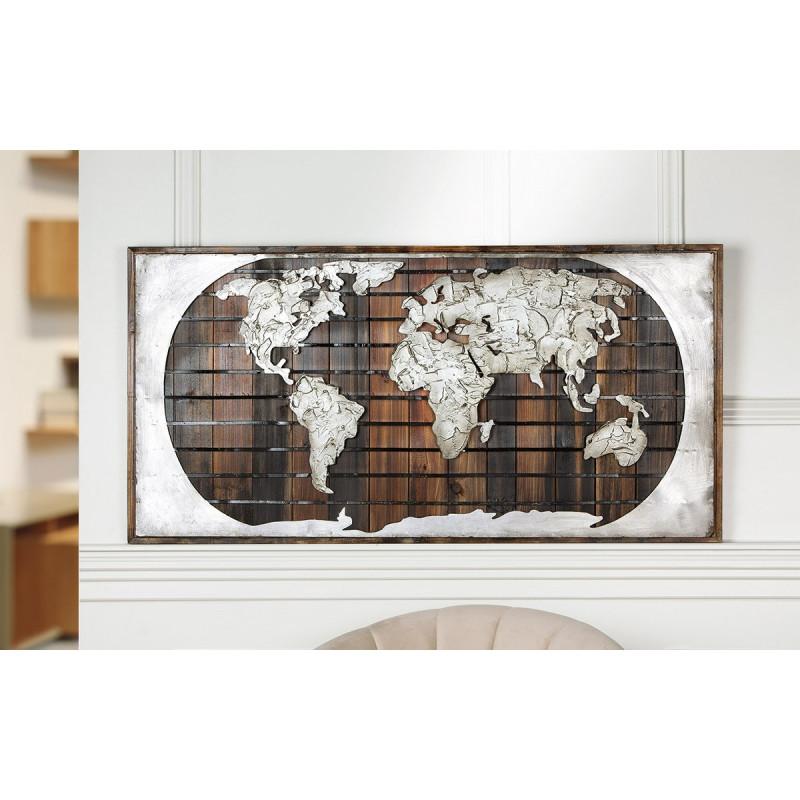 Gilde Gemälde Erde auf Holz