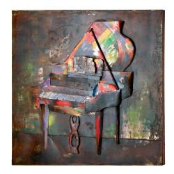 GILDE Metall Bild Pianoforte