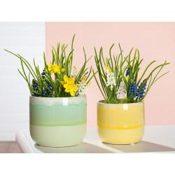 Gilde Übertopf Keramik Primavera
