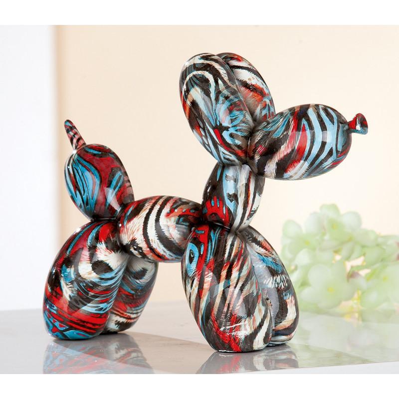 Gilde Ballon-Hund Pop Art