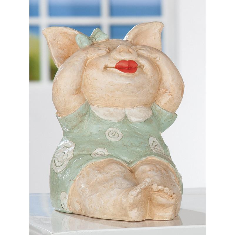 Gilde Schwein Rosalie Nichts sehen sitzend