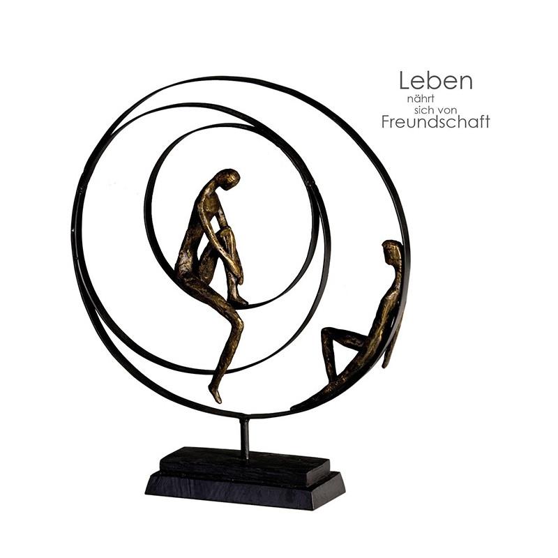 Casablanca Skulptur Patience bronze