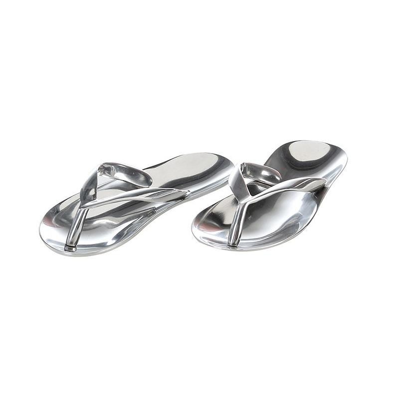 Casablanca Aluminium Schale Sandale