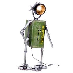 Casablanca Tischlampe Robot grün