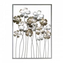 Casablanca Wandrelief Fleurs 80x58 cm