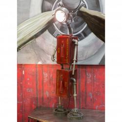 Casablanca Stehlampe Robot rot