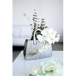 Gilde Dreamlight Vase Handtasche Stella Silver