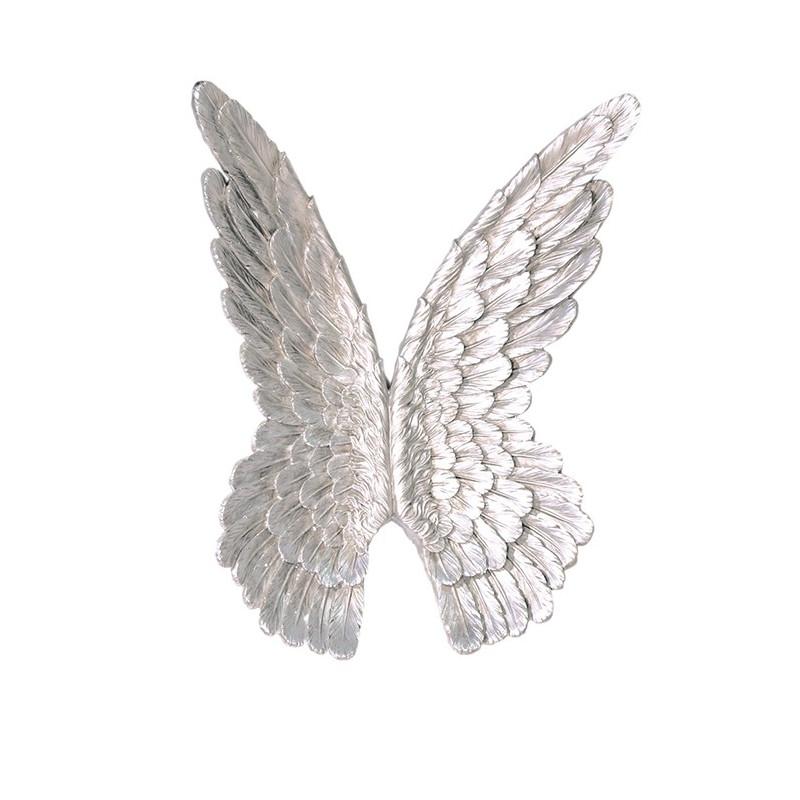 Casablanca Wandobjekt Flügel silber