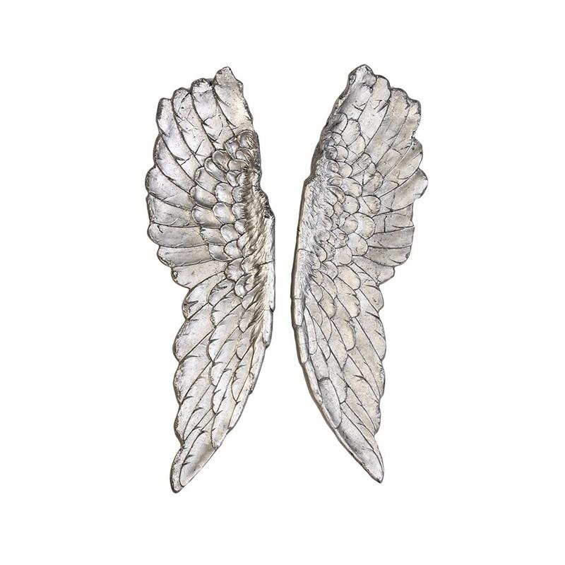 Casablanca Wandobjekt Wings silber