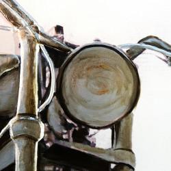 Casablanca 3D Bild Custombike