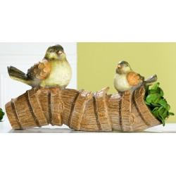 GILDE wetterfeste Pflanzröhre Birdy 25x53x25 cm