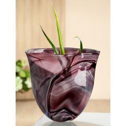 Gilde GlasArt Design Vase Nuvola