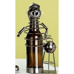 GILDE Bierflaschenhalter Barbecuechef aus lackiertem Metall