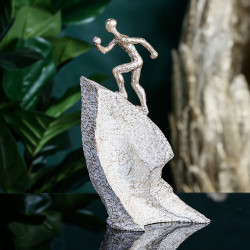 Casablanca Skulptur Aufsteiger