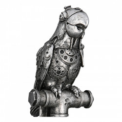 Casablanca Skulptur Steampunk Parrot