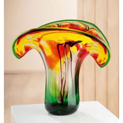 Gilde GlasArt Vase Colorato
