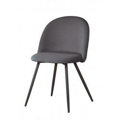 Gilde Stuhl Meran grau gesteppt 2er Set
