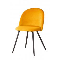 Gilde Stuhl Meran curry gelb gesteppt 2er Set