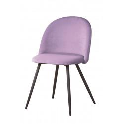 Gilde Stuhl Meran lila gesteppt 2er Set